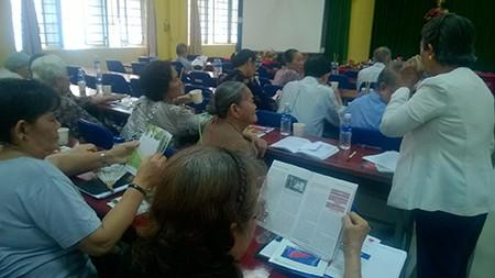 Ngày hội chăm sóc sức khỏe - Hội cựu giáo chức quận Tân phú